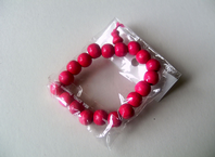 Stretch bead bracelet - choice of colours (Code 1137)